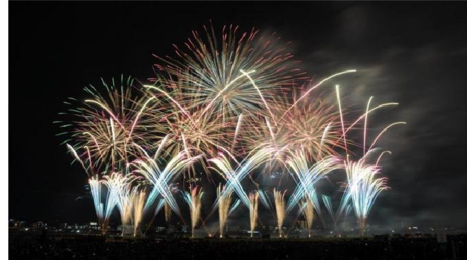 2014年8月23日 @神奈川 川崎市制記念多摩川花火大会