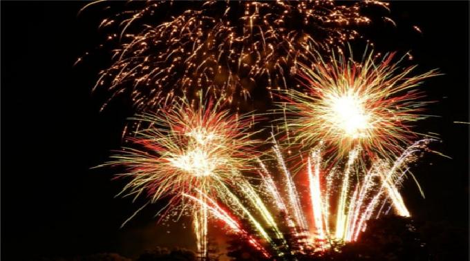 2014年8月9日~30日  @愛知 デンパーク 花火ショー 光と音の饗宴
