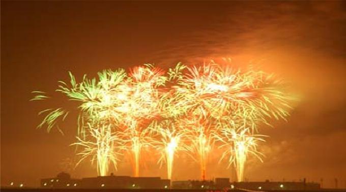 2014年7月26日 @大阪 岸和田港まつり花火大会