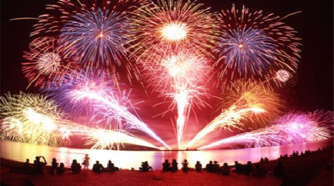 7月20日 - 8月30日 @兵庫 真夏の花火フェスタ2014