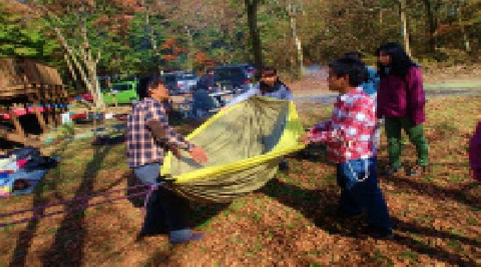 【自然大満喫♪ 日帰りデイキャンプ体験ツアー】 社会人サークルFEAD