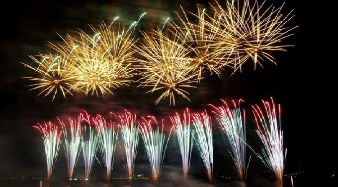 第26回浦富海岸元気フェスティバル 岩美花火祭り