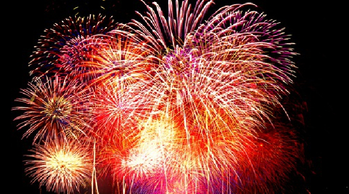 北九州市制50周年記念 第26回関門海峡花火大会