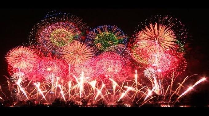 2013山田のかかし村まつり花火大会