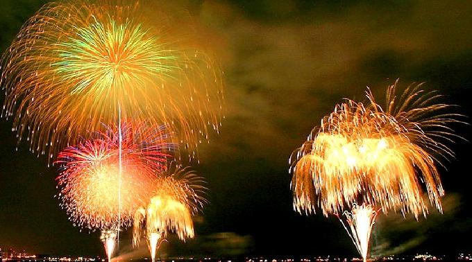 市原市市制施行50周年記念 第21回市原市高滝湖観光花火大会