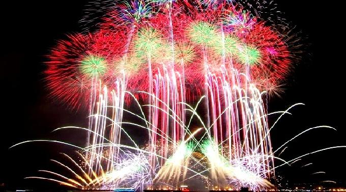 第25回ドスコイ祭り(花火大会)