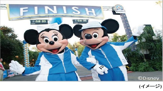 ウォルト・ディズニーの夢がたくさん詰まった、ディズニーランドリゾートで開催されるマラソン大会☆
