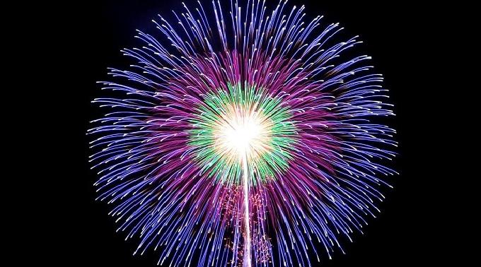 第67回塩竈みなと祭 前夜祭 花火大会