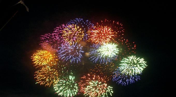 第38回 城崎温泉ふるさと祭り花火大会